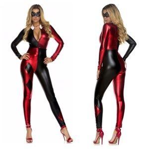 Classic Harley Quinn suit
